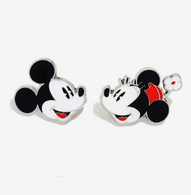 Loungefly X Disney Mickey And Minnie Enamel Pin Set - Cobalt Heights