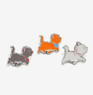 Loungefly X Disney The Aristocats Enamel Pin Set - Cobalt Heights