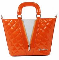 Starstruck Vixen Tote - Orange and Silver - Cobalt Heights