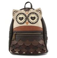 Loungefly X Owl Mandala Mini Backpack - Cobalt Heights