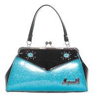 Sourpuss Sputnik Backseat Baby Purse - Light Blue - Cobalt Heights