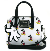 Loungefly X Disney Mickey Mouse Micro Dome Handbag - Cobalt Heights