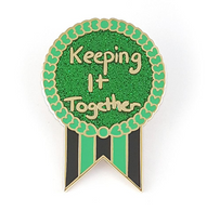 Jubly Umph Keeping It Together Lapel Pin - Cobalt Heights