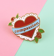 Jubly Umph Compassion Lapel Pin - Cobalt Heights