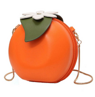 Orange Fruit Novelty Crossbody Purse - Cobalt Heights