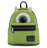 Loungefly X Pixar Mike Wazowski Mini Backpack - Cobalt Heights