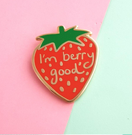 Jubly Umph Berry Good Lapel Pin - Cobalt Heights