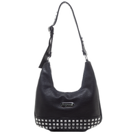 Sourpuss Studded Hobo Purse - Cobalt Heights