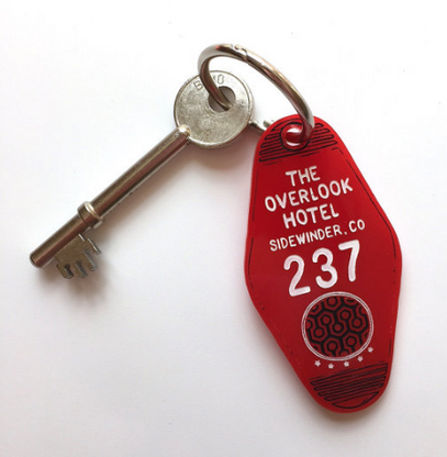 Hungry Designs The Overlook Hotel Keyring - Cobalt Heights