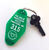 Hungry Designs The Great Northern Hotel Keyring - Cobalt Heights