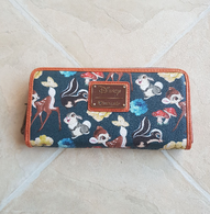Loungefly X Disney Bambi Floral Wallet - Cobalt Heights