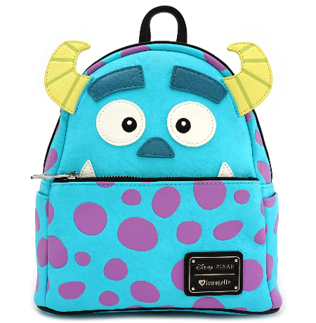692237d4ab0 Loungefly X Pixar Sully Mini Backpack - Cobalt Heights