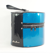 Starstruck Hat Box - Ocean Blue - Side - Cobalt Heights