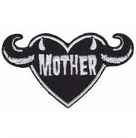 Sourpuss Mother Iron On Patch - Cobalt Heights
