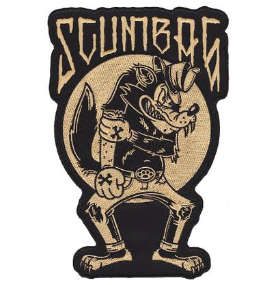 Sourpuss Scumbag Oversized Patch - Cobalt Heights