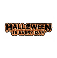 Sourpuss Halloween Is Everyday Enamel Pin - Cobalt Heights