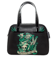 Sourpuss Monster Tattoo Bowler - Cobalt Heights
