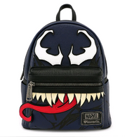 Loungefly X Marvel Venom Cosplay Mini Backpack - Cobalt Heights