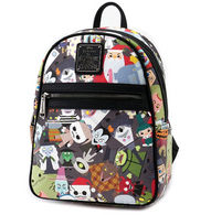 Loungefly X The Nightmare Before Christmas Chibi Mini Backpack - Cobalt Heights