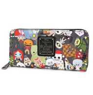 Loungefly X The Nightmare Before Christmas Chibi Wallet - Cobalt Heights