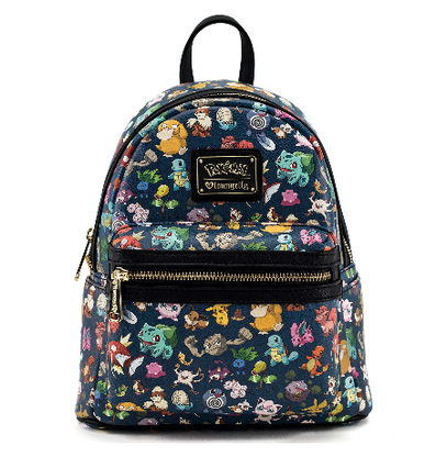 Loungefly X Pokemon Originals Mini Backpack - Cobalt Heights