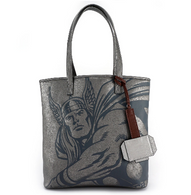 Loungefly X Marvel Thor Hammer Tote Handbag - Cobalt Heights