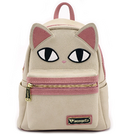 Loungefly Pink Cat Eyes Mini Backpack - Cobalt Heights