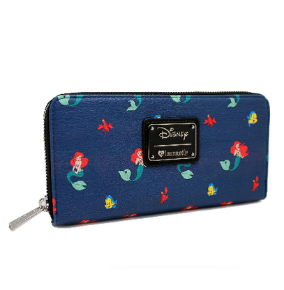 Loungefly X Disney Ariel and Friends Wallet - Cobalt Heights