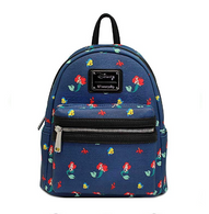 Loungefly X Disney Ariel and Friends Mini Backpack - Cobalt Heights