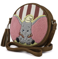 Loungefly X Disney Dumbo Ears Crossbody Bag - Cobalt Heights