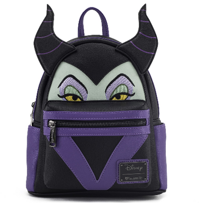 Loungefly X Disney Maleficent Mini Backpack - Cobalt Heights