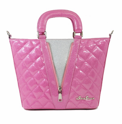 Starstruck Vixen Tote - Pink and Silver - Cobalt Heights