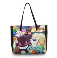 Loungefly X Pokemon Double Sided Character Tote Handbag - Cobalt Heights
