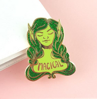 Jubly Umph The Green Lady Lapel Pin - Cobalt Heights