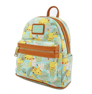 Loungefly X Pokemon Pikachu Leaf Mini Backpack - Cobalt Heights