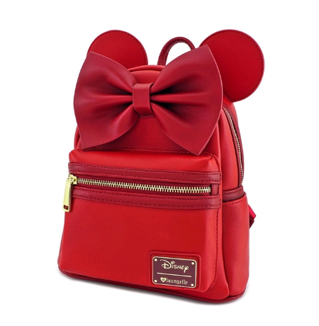 Loungefly X Disney Red Minnie Mouse Mini Backpack - Cobalt Heights 0422acbec0f42