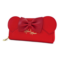 Loungefly X Disney Red Minnie Mouse Ears Wallet - Cobalt Heights