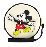 Loungefly X Disney Mickey Mouse Clock Crossbody Bag - Cobalt Heights