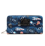 Loungefly X Star Wars Chibi X Wing Wallet - Cobalt Heights