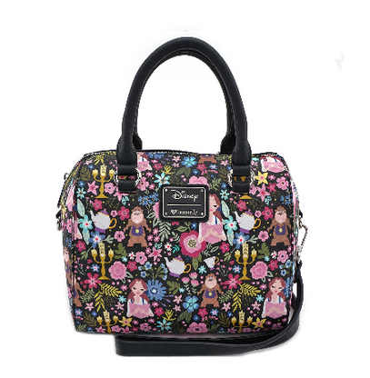 Loungefly X Disney Beauty And The Beast Character Handbag - Cobalt Heights