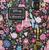Loungefly X Disney Beauty And The Beast Character Handbag - Print - Cobalt Heights