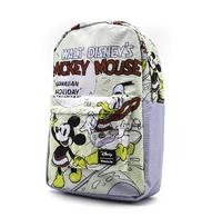Loungefly X Disney Mickey Hawaiian Holiday Backpack - Side - Cobalt Heights