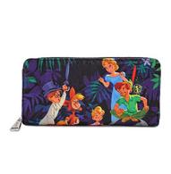 Loungefly X Disney Peter Pan Print Wallet - Cobalt Heights