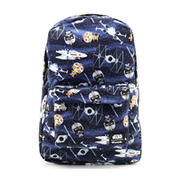Loungefly X Star Wars Chibi X Wing Backpack - Cobalt Heights