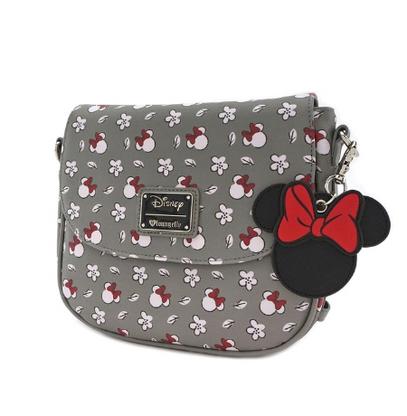 Loungefly X Disney Minnie Mouse Print Crossbody Handbag - Cobalt Heights