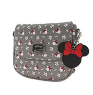 8319fa8735d Loungefly X Disney Minnie Mouse Print Crossbody Handbag - Cobalt Heights