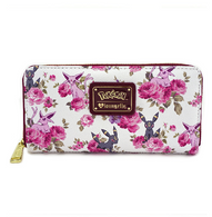 Loungefly X Pokemon Espeon and Umbreon Floral Wallet - Cobalt Heights