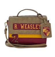 Loungefly X Harry Potter R Weasley Crossbody Handbag - Cobalt Heights