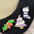 Jubly Umph Spooky Xmas Lapel Pin Set - In Action - Cobalt Heights