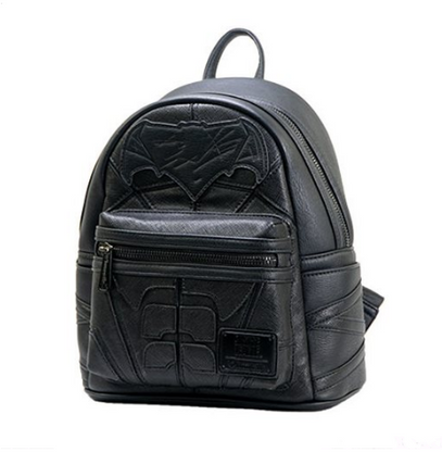 Loungefly X Justice League Batman Cosplay Mini Backpack - Cobalt Heights